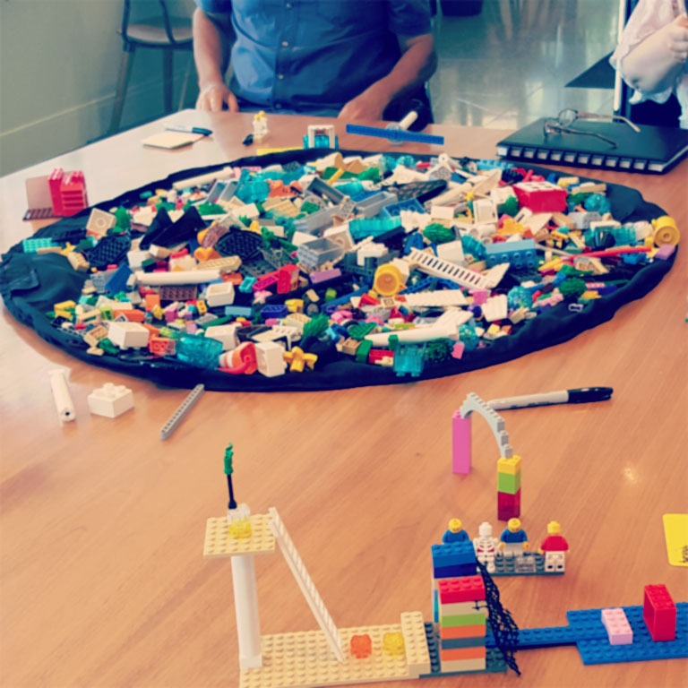 Professional Development Workshops Using Lego Serious PLay