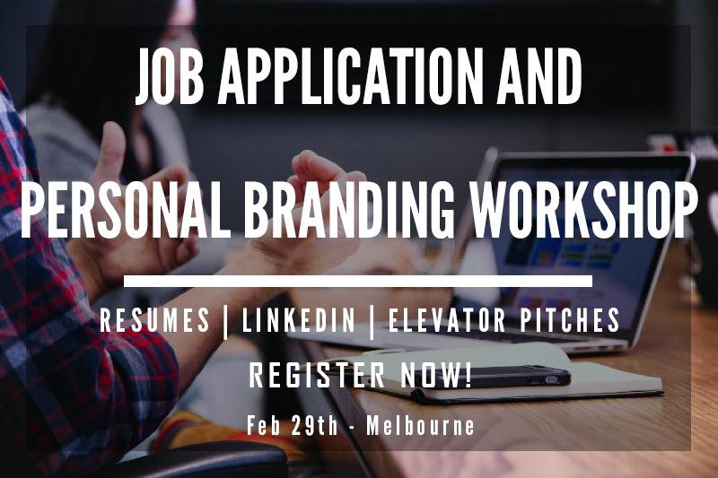 Job Application and Personal Branding-Workshop Feb 2020