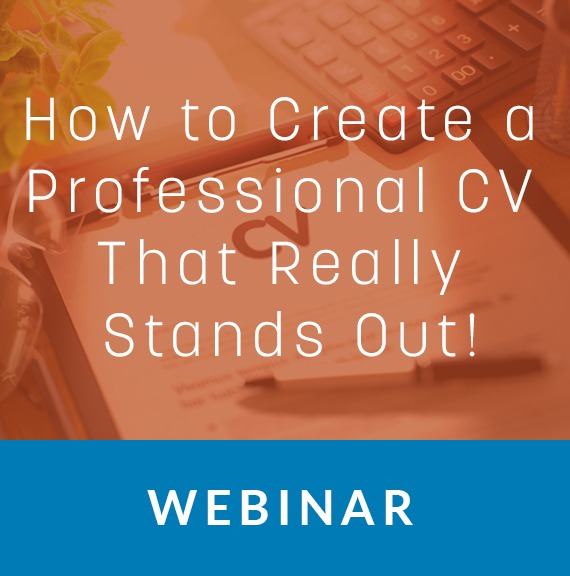 webinar  how to create a professional cv that really