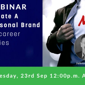 Webinar: How to Create a Strong Personal Brand
